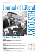 Cover of Journal of Liberal History 68
