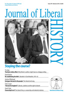 Cover of Journal of Liberal History 76
