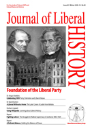 Cover of Journal of Liberal History 65