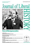 Cover of Journal of Liberal History 86