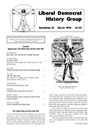 Cover of Liberal Democrat History Group Newsletter 10 – Special Issue: The Liberal Party and the Great War