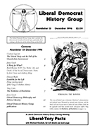 Cover of Liberal Democrat History Group Newsletter 13