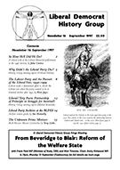 Cover of Liberal Democrat History Group Newsletter 16
