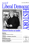 Cover of Journal of Liberal Democrat History 24
