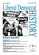 Cover of Journal of Liberal Democrat History 32