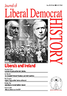 Cover of Journal of Liberal Democrat History 33 – Special issue: Liberals and Ireland