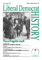 Cover of Journal of Liberal Democrat History 34/35