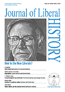 Cover of Journal of Liberal History 40