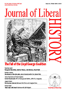Cover of Journal of Liberal History 41