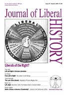 Cover of Journal of Liberal History 47 – Special issue: Liberals of the Right?