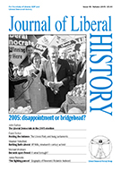 Cover of Journal of Liberal History 48