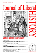 Cover of Journal of Liberal History 49