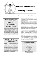 Cover of Liberal Democrat History Group Newsletter 5