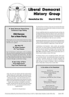 Cover of Liberal Democrat History Group Newsletter 6