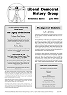 Cover of Liberal Democrat History Group Newsletter 7