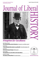 Cover of Journal of Liberal History 79