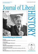 Cover of Journal of Liberal History 80