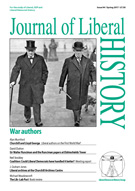 Cover of Journal of Liberal History 94