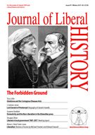 Cover of Journal of Liberal History 97