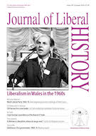 Cover of Journal of Liberal History 103