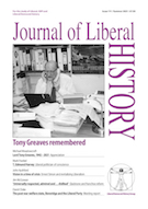 Cover of Journal of Liberal History 111