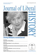 Cover of Journal of Liberal History 112